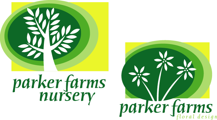 Parker Farms Nursery Logos