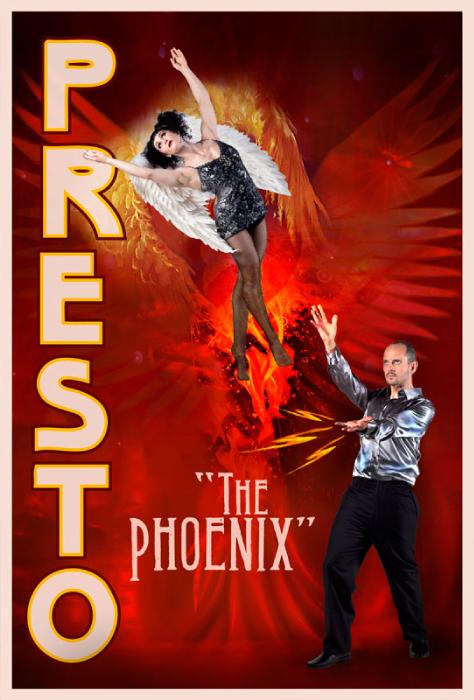 Presto the Magician Poster