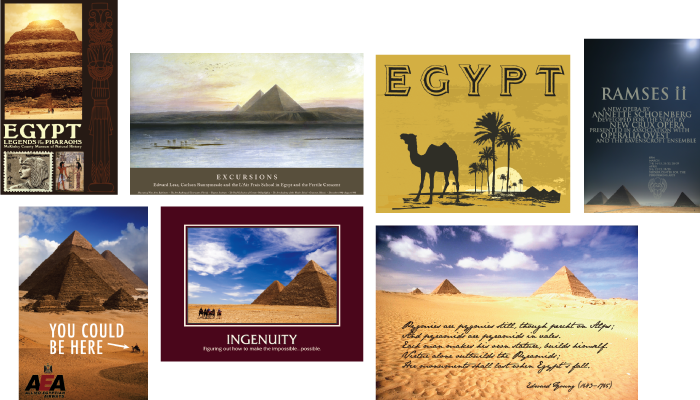 Posters Featuring Pyramids