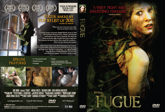 Fugue DVD case