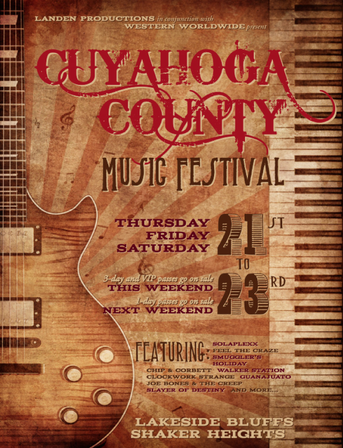 Cuyahoga County Music Festival Screenshot