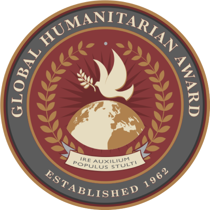 Seal for the Global Humanitarian Award